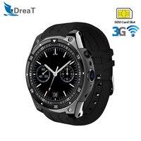 SmartWatch MTK6580 3G WiFi GPS Smart Watch Men Waterproof Sports Heart Rate Blood Pressure Monitor SIM Card Andriod Wristwatch