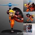 High Quality!!! Anime GEM Naruto Uzumaki Rasengan 16cm PVC Action Figure Collection Model Toys