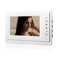 V70F/520/2 видео домофон дверной звонок 2 кнопки ИК Ночное видение Камера 2 шт. мониторов и 1 шт. открытый Камера