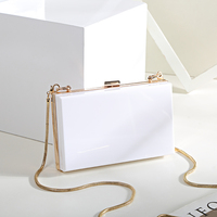 Trenadorab Pink Satin Clutch Evening Bag Chain Women Clutches Bags Ladies Evening Shoulder Bag Wedding Female