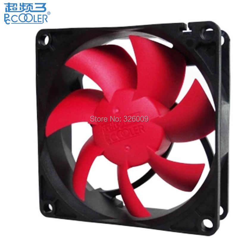 4pin PWM ventilador 80mm, 8 cm ventilador, extraíble y lavable, refrigerador de la caja de la computadora, PC caja, ventilador del radiador caja de la computadora, pccooler F89