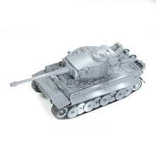 WWII German Tiger Tank World Military Model Assembled 1:72 Simulation Puzzle Toys Gift Boy