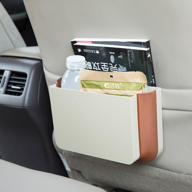 CHIZIYO font b Car b font Seat Back Hanging font b Storage b font Box Black