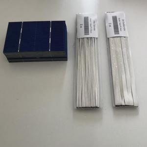 Image 3 - ALLMEJORES 50 stücke mini solarzelle 78mm * 52mm + Solar zellen löten kits für diy photovoltaik 12 v 24 v solar panel power ladegerät
