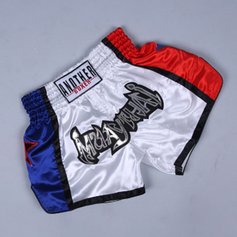 In Quick Dry Boxing Pants Printing Mma Shorts Kickboxing Fight Grappling Short Tiger Muay Thai Boxing Shorts Breathable Trunks Excellent Quality