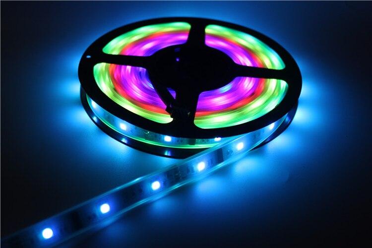 10 M 6803 LED RGB bande 150 LED 5050 numérique IP67 rêve magique couleur LED étanche bande + contrôleur RF6803 + alimentation 12V8A - 2