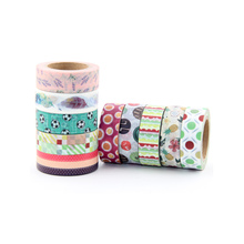 New 10M DIY Cute Kawaii Unicorn Washi Tape cute animal, leaves, football Masking Tape For Home Decoration Scrapbooking Diary цена