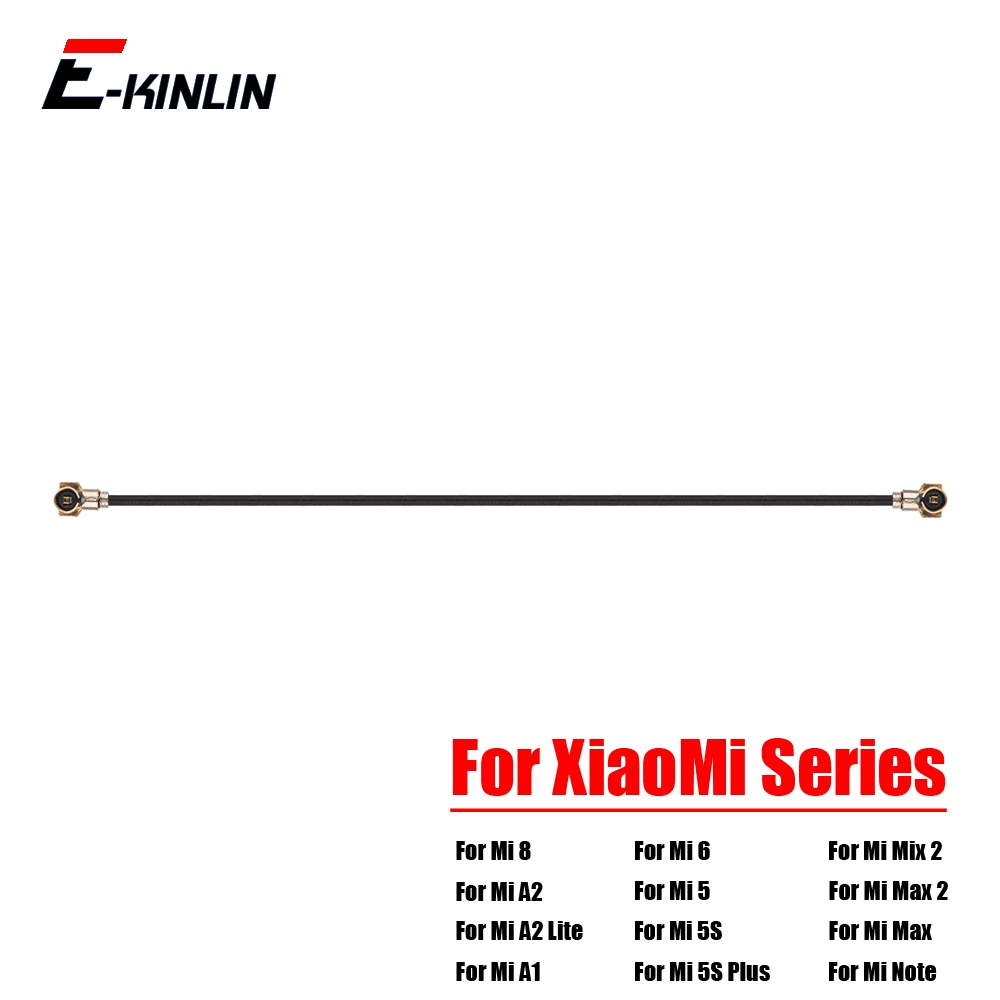 New Coaxial Connector Wifi Signal Antenna Flex Cable For XiaoMi Mi 8 SE A2 A1 6 5 5S Plus 4 4S 4C 4i Mix 2S Max 2 Note Pro