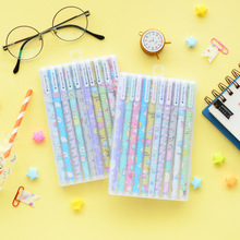 10 color Cartoon sumikko gurashi gel pen set 0.5mm ballpoint pens for writing gift Cute stationery Office school supplies FB123