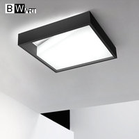 BWART Modern Black White Design Ceiling Light Smart Home LED Lampshade Modern High Quality Ceiling Lamp