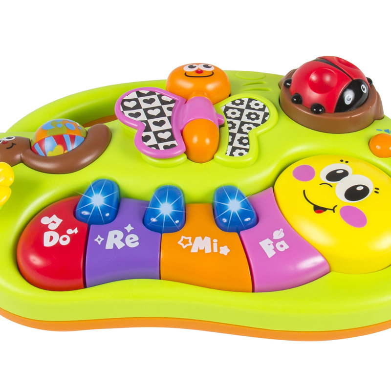 Funny musical instrument toys toddler learning machine toy with lights music Songs Learning Stories and more baby girls toys