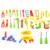34 unids/set Bebé Aprendizaje Temprano y Educación juguetes de Los Niños del bebé de reparación herramientas Juguete Pretend Play House Juguetes