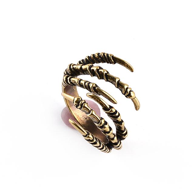 Vikings Dragon Claw Ring