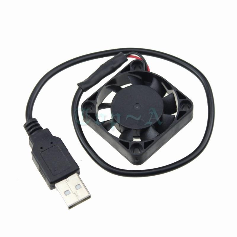 Gdstime 4010 Mini 40mm 40x40x10mm 4cm DC 5V USB Connector Brushless Cooling Cooler Fan