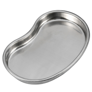 Image 2 - Cosmetic  Disinfection Stainless Steel Pan Bending Plate Accessories  Tools Tattoo Tray Body Art Container