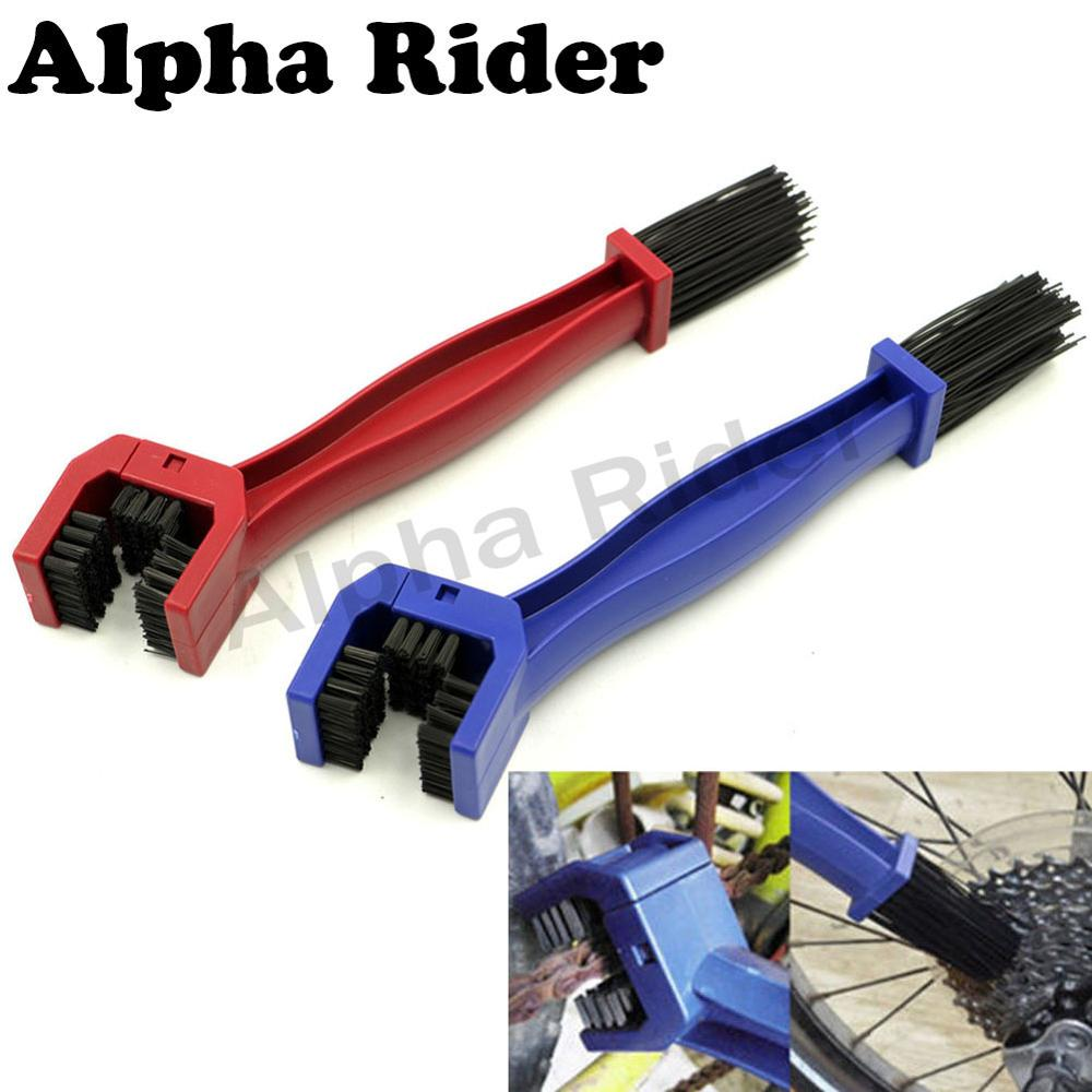 2PCS Chain Cleaner Dust Dirt Remover Motorcycle Bicycle Chain Cleaning Brush