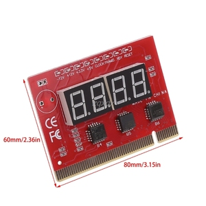 Image 2 - New Computer PCI POST Card Motherboard LED 4 Digit Diagnostic Test PC Analyzer Whosale&Dropship