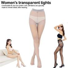 Women 3 Colors Girl Slik Stocking Legs High Hosiery Tights Pantyhose Sexy Nylon Spandex Lady Transparent Thin Female Stockings