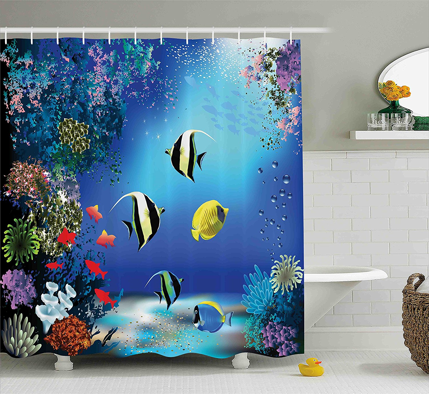 Shower Curtains Bathroom Supplies Accessories Dolphin And