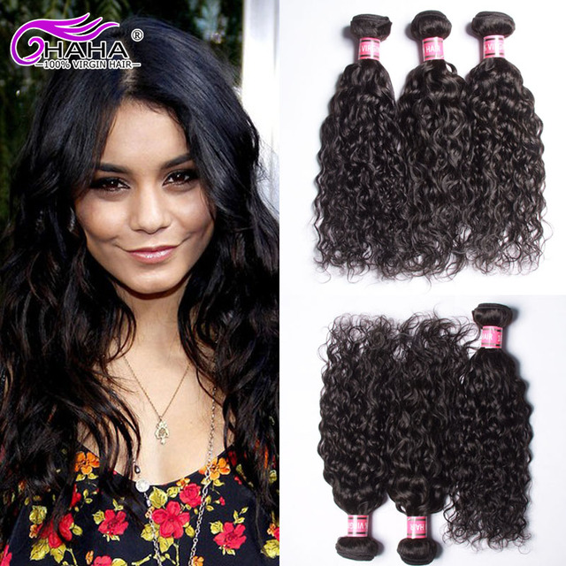 Best Quality Hair Weaving Brazilian Natural Wave Virgin Human Extensions 4pcs Wet And