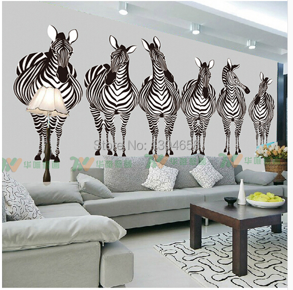 Custom 3D wall paper of modern living room sofa bedroom wallpaper murals zebra Silk cloth wallpaper papel de parede custom 3d wall murals wallpaper luxury silk diamond home decoration wall art mural painting living room bedroom papel de parede