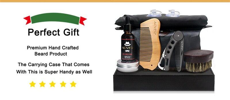 Tesoura Grooming & Corte Kit Masculino Barba Conjunto de Cuidados