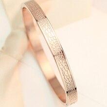 Calidad Superior 18KGP croco brazalete de la manera de señora de oro rosa pulsera del regalo del amante envío gratis (GB103)