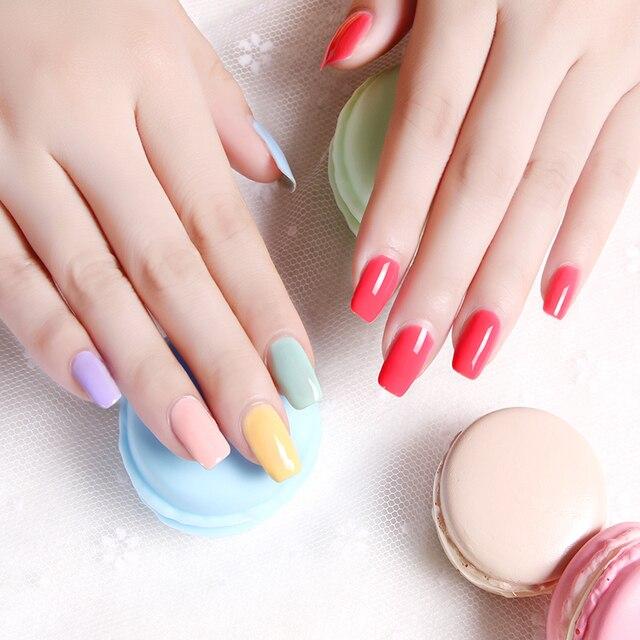 Elite99 10 ml Macaron Farbe Gel Lack Tränken Weg Vom UV Gel Nagellack Semi Permanent DIY Nail art Maniküre Gellak nagel Gel Polnisch