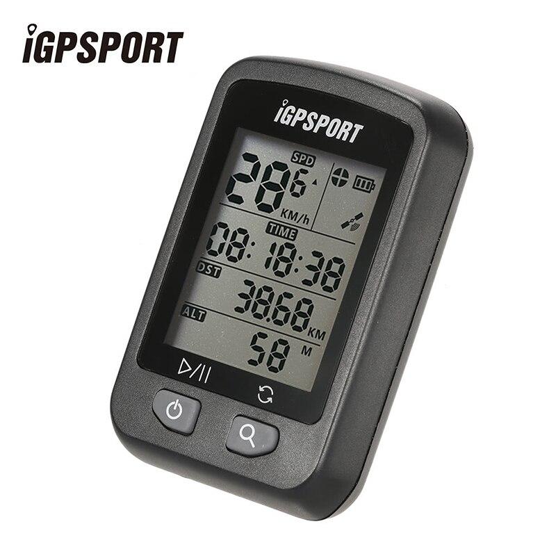 IGPSPORT iGS20E Vélo Rechargeable Ordinateur GPS Compteur De Vitesse IPX6 Étanche Rétro-Éclairage Écran Chronomètre avec le Mont Accessoires
