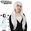 Hot 70 cm longo encaracolado preto/redpink/brown 12 cores Anime Cosplay peruca, de Alta qualidade das mulheres do partido kanekalon fibra sintética perucas de cabelo