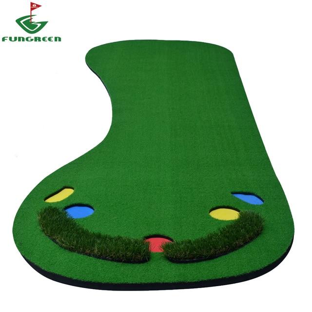 90x300cm Indoor & Outdoor Backyard Mini Golf Putting Green Protable ...
