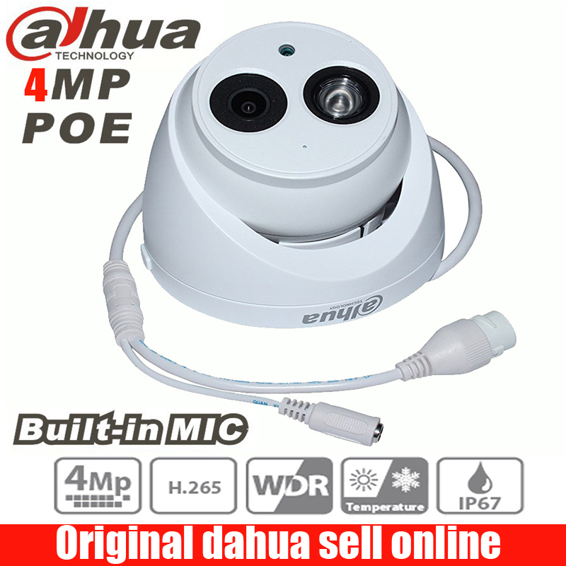 <font><b>Dahua</b></font> IPC-HDW4433C-A <font><b>4MP</b></font> Starlight <font><b>Camera</b></font> Built-in MIC IR 50m network <font><b>IP</b></font> <font><b>Camera</b></font> Support POE replace IPC-HDW4431C-A cctv <font><b>camera</b></font> image