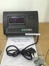 XK3190 A12 + E LED RS232 ekran İngilizce paneli ağırlığı göstergesi No pil yükü metre denetleyici XK3190 A12E Xk3190 A12 + E