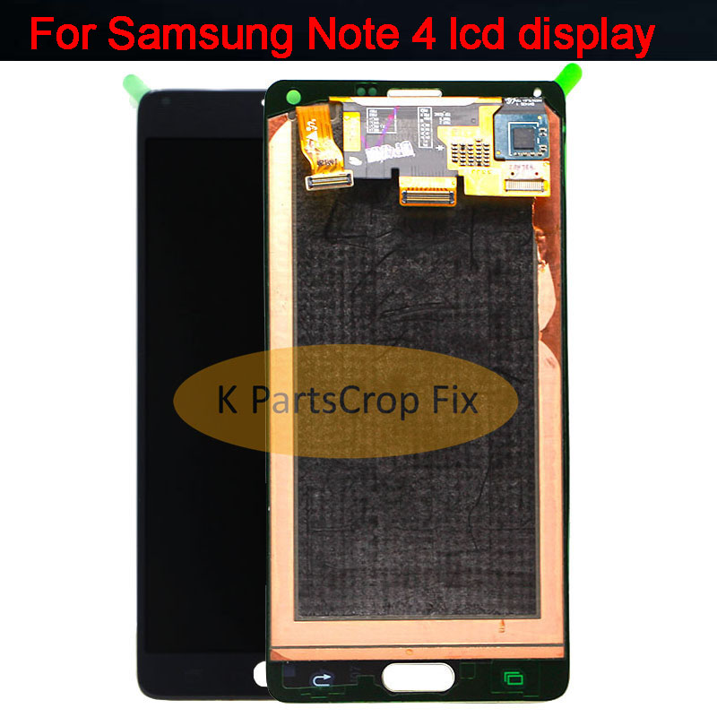 Super AMOLED LCDs For Samsung Galaxy Note 4 Note4 N910 N910C N910A N910F N910H LCD Display Touch Screen Digitizer Replacement