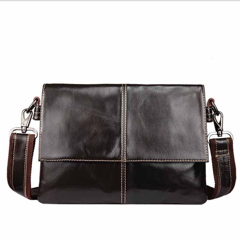 Neweekend Casual Business Genuine Leather Mens Messenger Bag Vintage Men'S Crossbody Bag Flap Shoulder Crossbody Bags BFL-011 цена