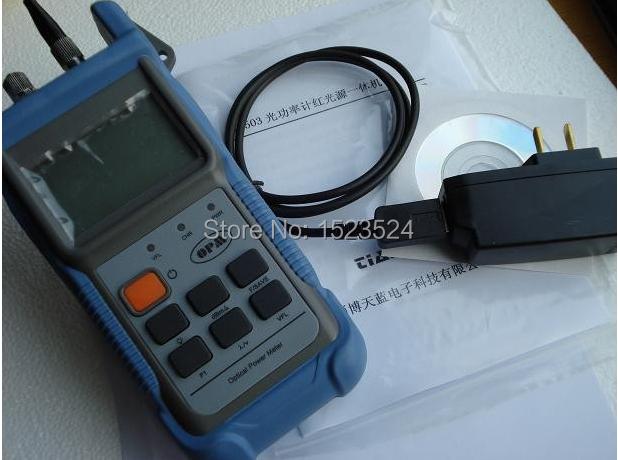 Tl503 fibra óptica testador de medidor de potência óptica localizador Visual de falhas ( medidor de energia de fibra e 10 mw localizador Visual de falhas )