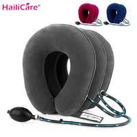 US Stock3 couche gonflable Air Cervical cou dispositif de Traction collier doux pour soulager la douleur cou civière soulagement de la douleur