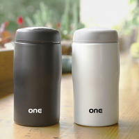 ONE Business 304 Stainless Steel Thermoses Mini 260ml Vacuum Flasks Portalbe Leak Proof Coffee Mug Thermal