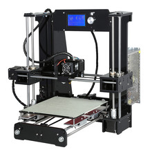 Easy Assemble Anet A6 Anet A8 3D Printer Kits Reprap i3 Kit DIY Kits 3D Printing Machine with SD Card+Filament+Tools