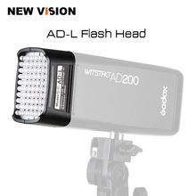 Godox AD LไฟLEDหัวทุ่มเทสำหรับAD200แบบพกพากลางแจ้งกระเป๋าแฟลชอุปกรณ์60ชิ้นหลอดไฟLED