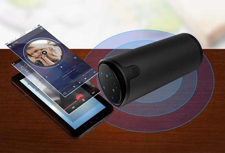 3D HIFI stereo touch Bluetooth speaker (2)