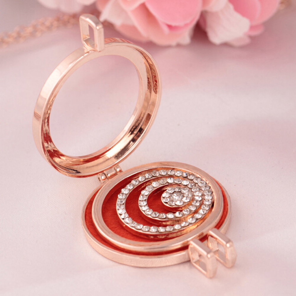 Necessaries Personality Special Available Hot Vintage Necklace Beauty Web Open Locket Pendant Item