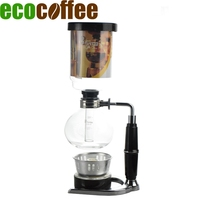 2017 Japanese Style Coffee Syphon Pots Vacuum Brewers With Alcohol Burners 300ml 500ml Siphon Tca 3