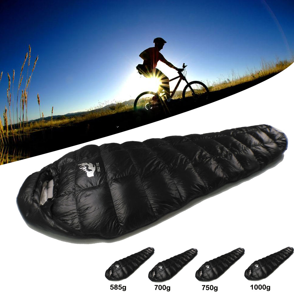 Outdoor Camping Sleeping Bag, Winter Down Sleeping Bag Ultralight, Ultralight Sleeping Bag Winter for Camping Cold Temperature camping