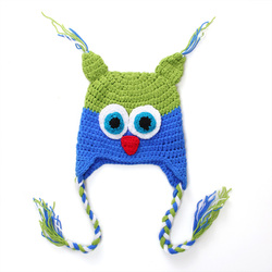 Neonatal hand woven baby wool cap child joker owl hat knit newborn christmas present 0 3month.jpg 250x250