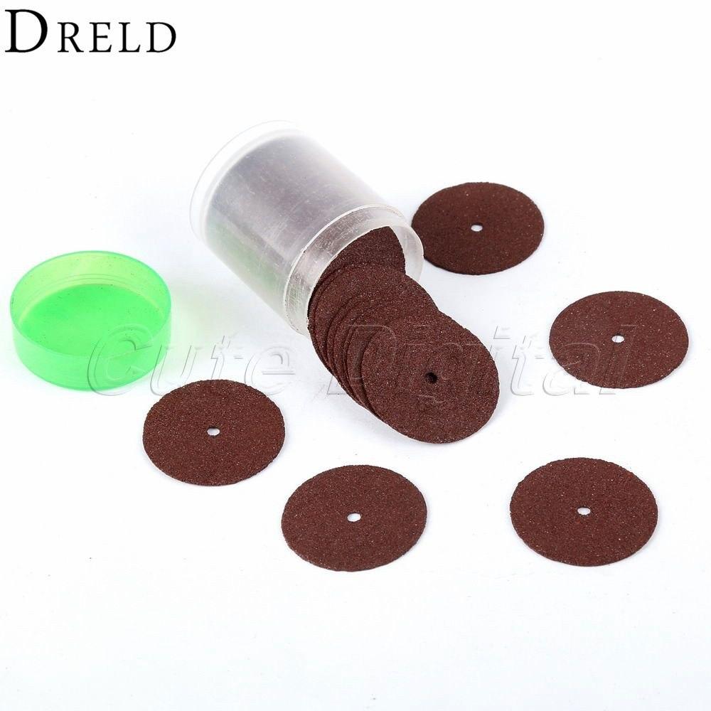 DRELD 36pcs dremel accessories 24mm Abrasive Disc ...