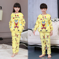 Winter Kids Pijamas Flannel Sleepwear Girls Boys Pyjamas Fleece Kids Pajamas Sets 3-14T Kids Clothes Kids Christmas gift Homewea
