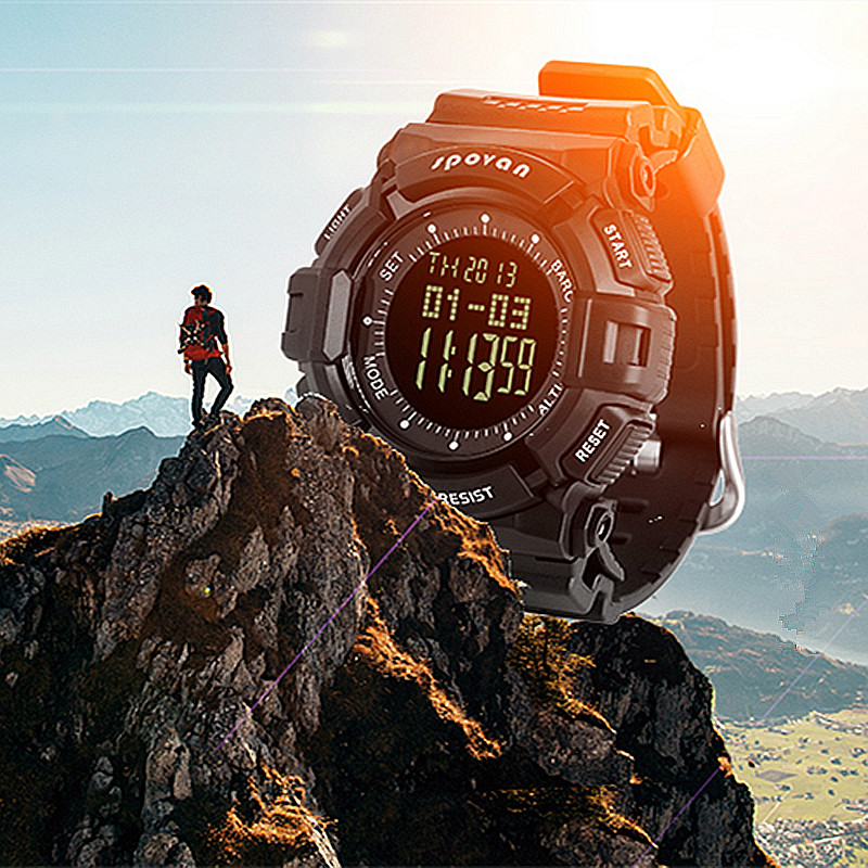 SPOVAN Sport Klokker for menn Militær Watch Design Klokke - Herreklokker - Bilde 2