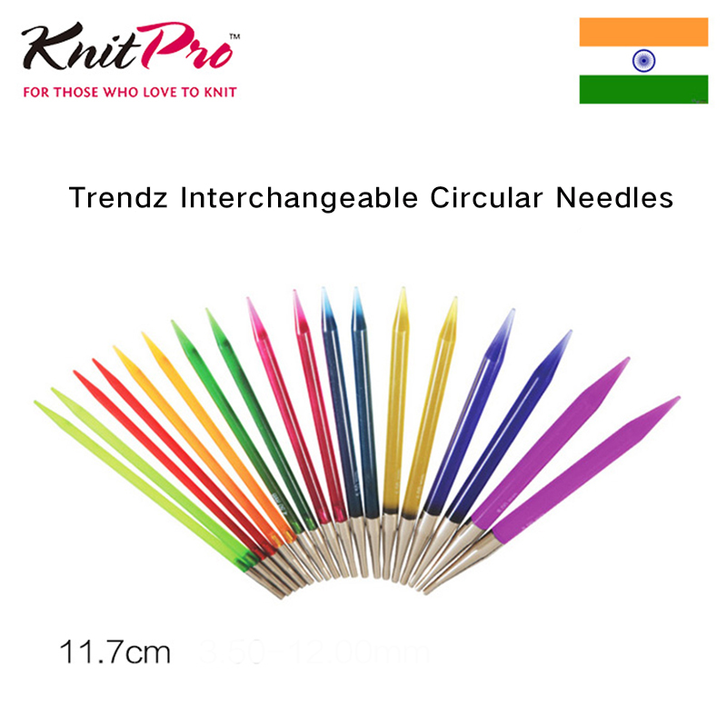 1 Piece Knitpro Trendz  Interchangeable Circular Needle