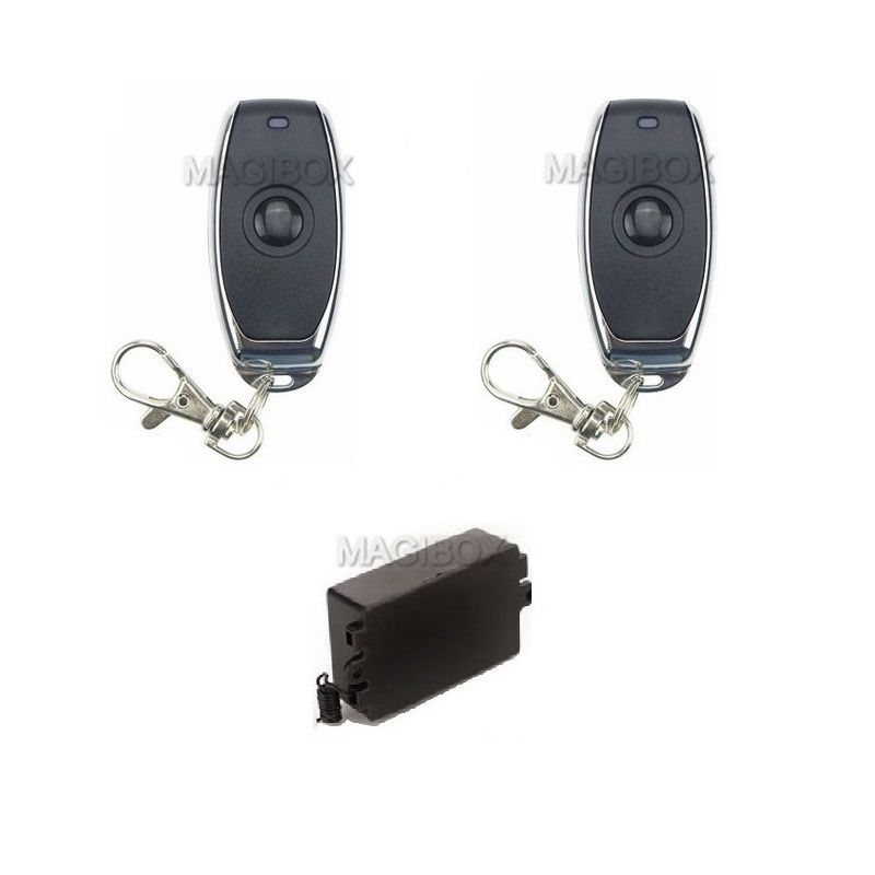 Image 4 - Remote Control 100lbs Embedded Magnetic Lock Mini 60KG Electromagnetic Lock + Remote Control + 12V Power Supply-in Electric Lock from Security & Protection